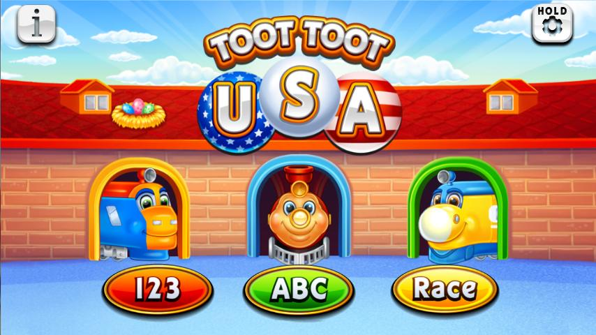 Toot Toot USA - screenshot