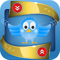 Bluebird Unfollow icon