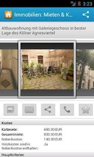 Immobilien: Mieten & Kaufen HD - screenshot thumbnail