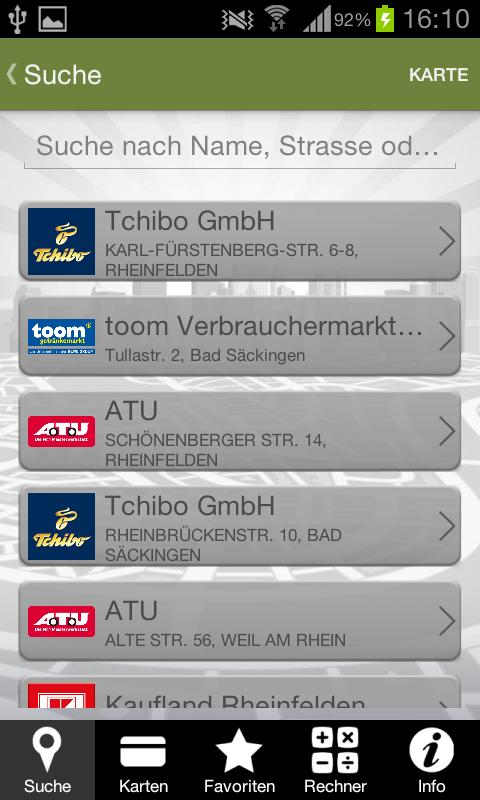 Ticket Plus Card von Edenred - screenshot