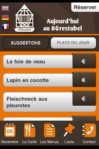 Le Bürestubel- screenshot