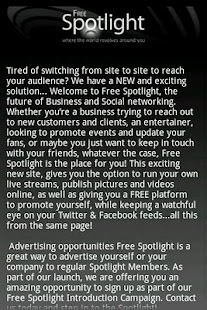 FreeSpotLight - screenshot thumbnail