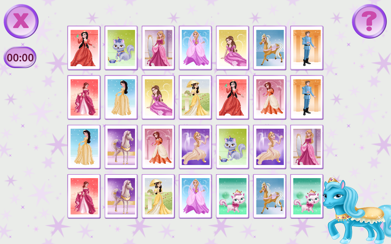 Uncategorized Princess Memory Game princess pairs memory games android apps on google play screenshot