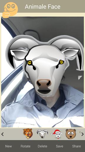 【免費攝影App】Animal Face Stickers-APP點子