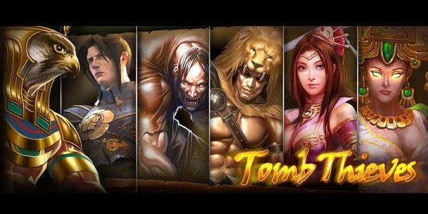 【免費休閒App】盜墓卷軸。Tomb Thieves-APP點子