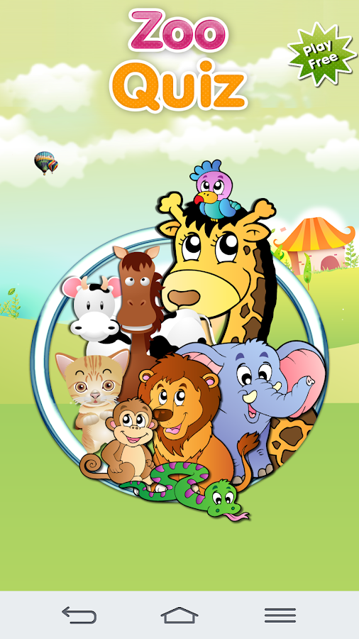 Zoo Quiz Animal Sounds- screenshot
