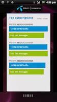 Screenshot of M2M Dashboard
