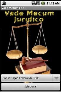 Vade Mecum Juridico Lite- screenshot thumbnail