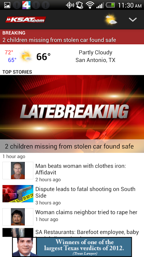 KSAT.com - screenshot
