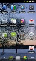 Screenshot of Honeycomb LPP Icon Pack