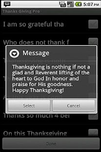 Happy Thanksgiving - screenshot thumbnail