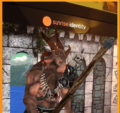 Sunrise Identity AR for Tablet