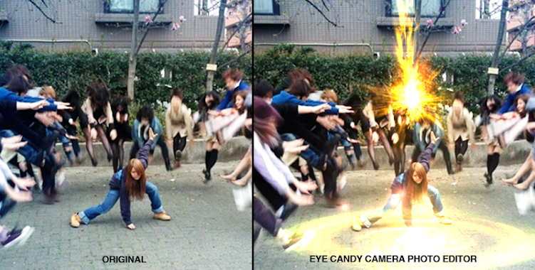 EYE CANDY CAMERA PHOTO EDITOR - screenshot