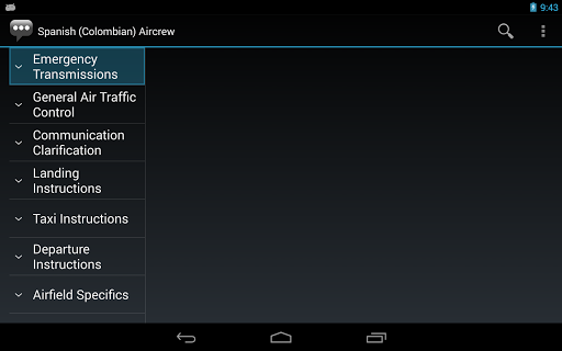 【免費通訊App】Spanish (Colombia) Aircrew-APP點子