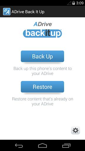 ADrive backitup™