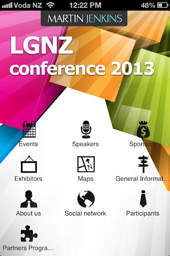 LGNZ Conference 2013