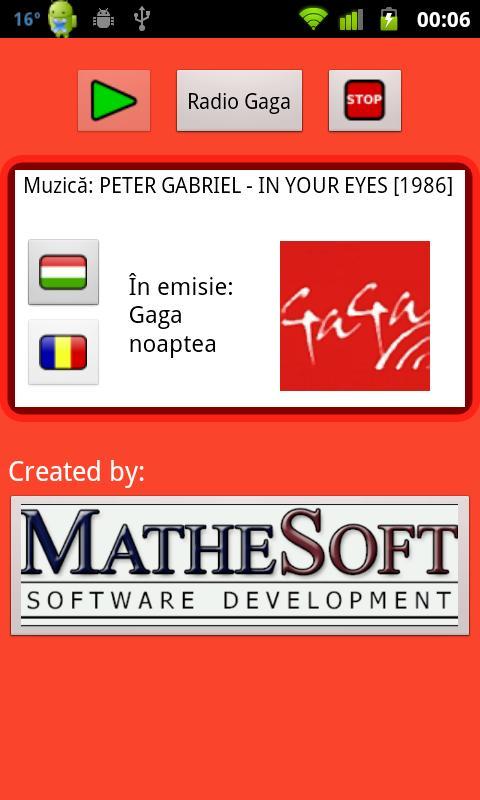 Radio GaGa- screenshot