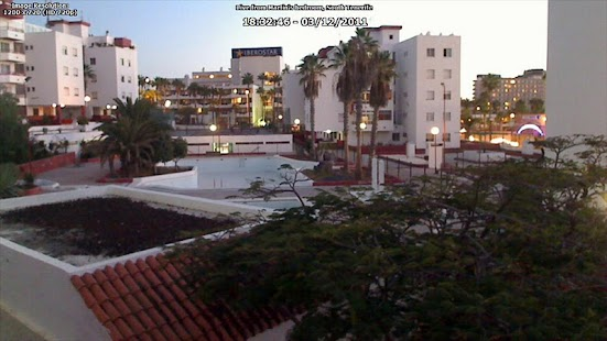 Martin In Tenerife's WebCam - screenshot thumbnail