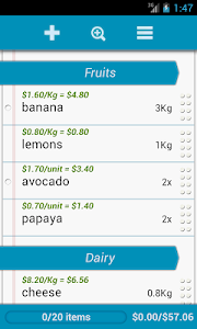 Grocery List Pro screenshot 4