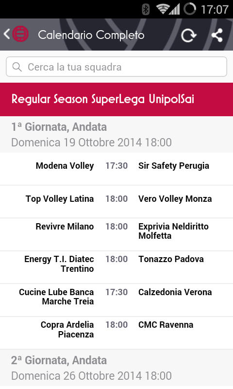 Volley Real Time, ITALIA A1 A2 - Android Apps on Google Play