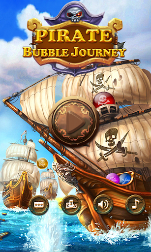 Pirate Bubble Journey