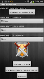 Army Creator Mobile - screenshot thumbnail
