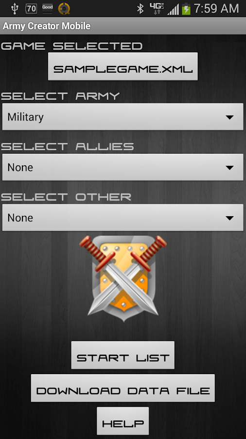 Army Creator Mobile - screenshot