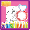 Coloring for Kids - Monster icon