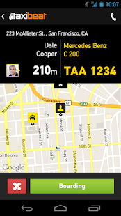 Taxibeat Free taxi app - screenshot thumbnail