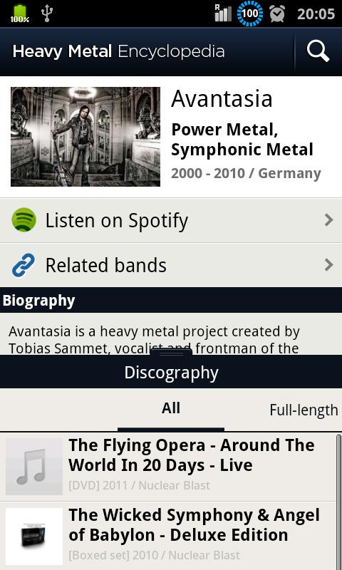 Heavy Metal Encyclopedia - screenshot