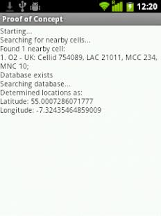 Offline Geolocation UK-Beta