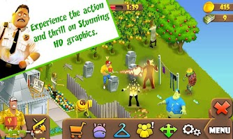 Screenshot of Zombie Lane