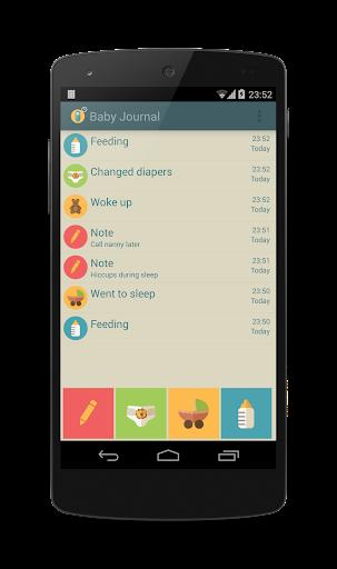 Baby Journal - Log Tracker
