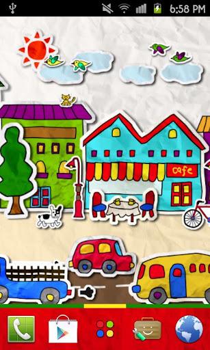 paper town Theme
