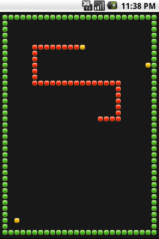 SNAKE TOUCH - screenshot