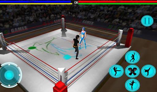 3D girls Martialarts fighting