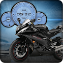 Yamaha R6 Black Compass HD LWP icon