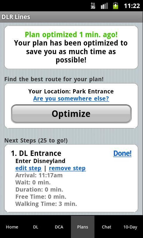Disneyland Lines - screenshot