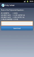 Screenshot of Polynomial Solver Free
