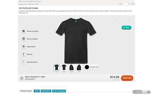 De Cultured Create T Shirt