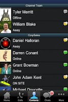 Screenshot of Fonality HUD Mobile - trixbox