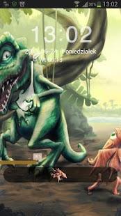 GO鎖屏主題恐龍|玩個人化App免費|玩APPs