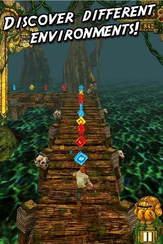 Screenshots of Temple Run for Android