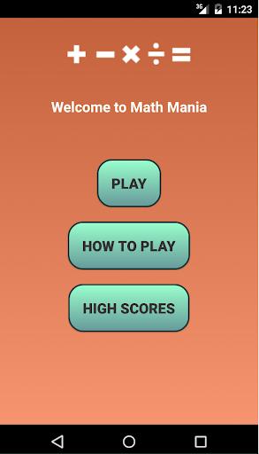 Math Mania