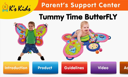 Tummy Time ButterFLY