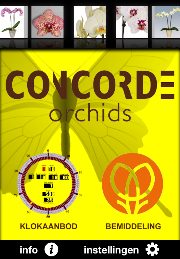 Concorde Orchids: screenshot