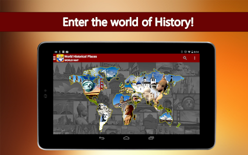 World Historical Places- screenshot thumbnail