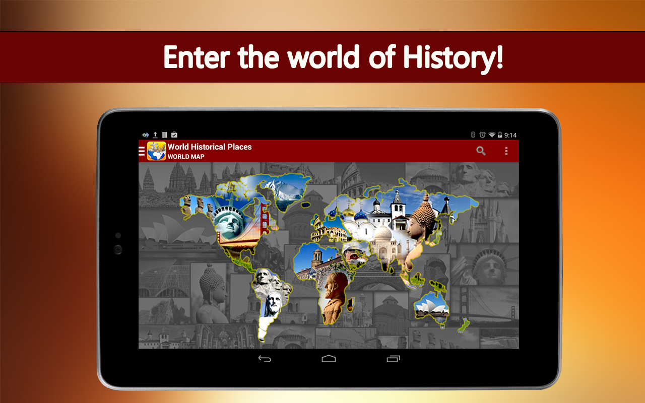 World Historical Places- screenshot