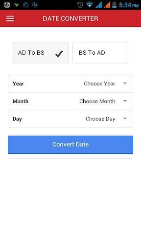 Convert Nepali Date