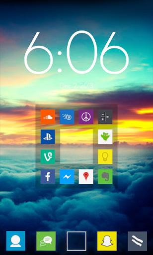 Simple Squares adw nova icons